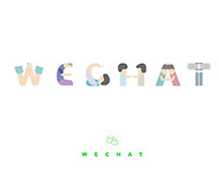 Social Interaction 社交 Font Design