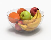 Bowl full of fruits