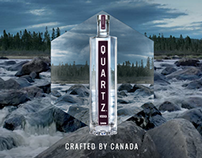 Quartz Vodka website