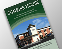 Rack Card for Assisted Living Facility