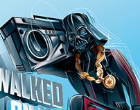 STAR WARS - HIP HOP vector tribute