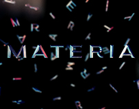 Intro Design for Reel - Materia
