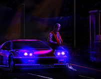 Kavinsky l Photomanipulation