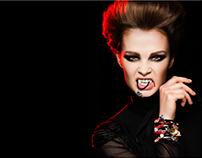 Halloween - photoshoot for byDziubeka jewellery 2013
