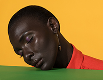 Expression of Colors for Alpha Fashion Magazine