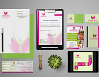 Identidade Visual - Gizele Rosa - Nutricionista