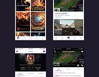 Twitch App Redesign