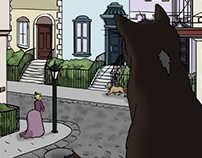Fairy Tale Square: Rufus the Cat