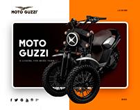 Redesign motoguzzi.com
