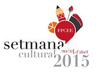 Diseño de logo Setmana Cultural FPCEE 2015