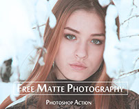 Matte Photoshop Actions – Free Download