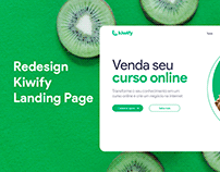 Concept Redesign Kiwify Landing page