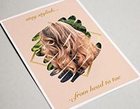 Salon | Customer Reward Card