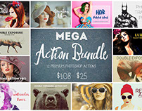 Mega Action Bundle (77% Off)