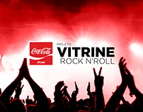 Vitrine Rock N' Roll - Coca-Cola Shoes