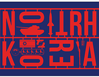 North Korea - Typography Design