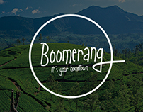 Boomerang Sri Lanka Website Interface Design