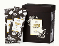 OTREE - GOURMET NUTS Package design