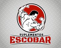 Logo design for Suplementos Escobar