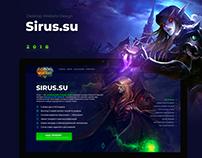 World of Warcraft Server Website