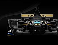 Nuova Motorsport Formula E - Brand Identity Project