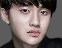 Exo D.O (Do Kyung-soo) Fan Art Digital Art