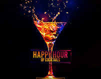 POSTER Happy Hour of Cocktails [ UNFINISHED ]