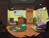 Background Design - Kids' Room