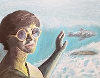 aquarium portrait