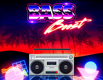 "80's Boom Box - ""BASS BOOST"""