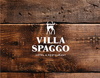 Villa Spaggo brand identity design