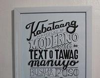 TYPO: Filipino Traditions