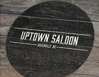 Uptown Saloon - Logo Design