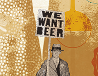 """WE WANT BEER""  EL 13 BAR"