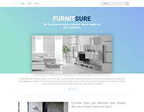 furniture website | concept design