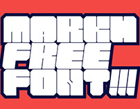 MARKH FREE FONT