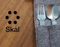 Skal Cutlery - Stainless Steel & Felt Case