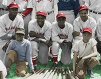 COLORIZATION: 1940 Hilldales Baseball (2012)