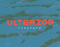 Ulterior - Typeface