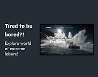 The Wave - website for extreme lovers