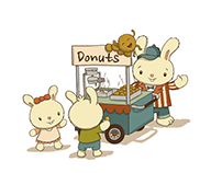 Food Cart: Mini Donuts