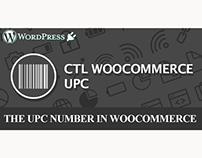 WordPress Plugin: CTL Woocommerce UPC