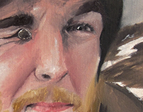 Self Portrait (Oil Painting)