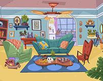 Background Art / Kaplow Studio