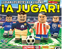 Preview of Mexican Football League like Lego.