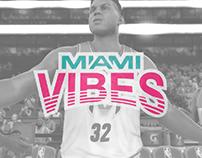 Miami Vibes - NBA2K17 Branding