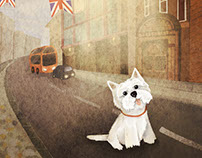 "Illustration for book ""Westie"""