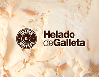 Crepes & Waffles - Helado de Galleta