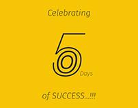 Celebrating 500 Days