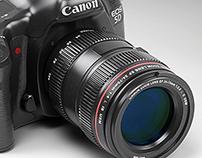 Canon EOS 5D Mark III - Photorealistic 3D Render